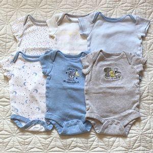 Newborn Baby boy onesies (set of 6)